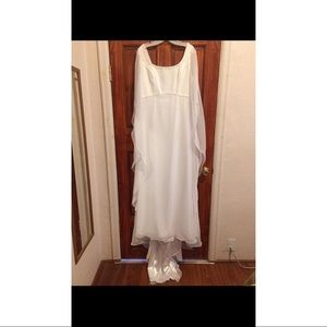 NWT! David's Bridal wedding gown